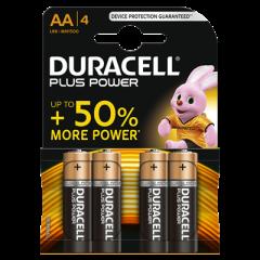 Batterijen Alkaline Plus Power AA 4st.