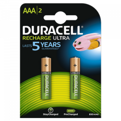 Oplaadbare Batterijen Ultra Precharged AAA 2st.