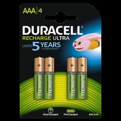 Oplaadbare Batterijen Ultra Precharged AAA 4st.