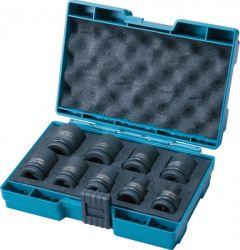 Toolnation-Makita Accessoires D-41517 9-delige krachtdoppenset-aanbieding