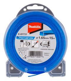 Maaidraad blauw 1,65mm x 15 mtr voor Bosmaaiers