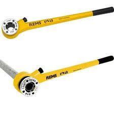 Eva Set R 3/8-1/2-3/4-1-1 1/4 inch Handdraadsnij-ijzer met snelwisselsnijkoppen