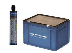 Expandet ESI Xtreme Pro Chemische verankering Spuitmortel voor draadstangen en betonijzer 20 kokers in box