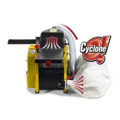 PF204 Cyclone Vlak vandiktebank met geïntegreerde stofafzuiging 204mm 1250W 230V