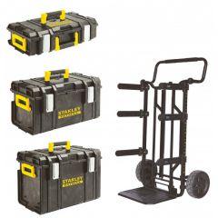 FMST1-75683SB Fatmax toughsystem - Trolley met DS150, DS300 en DS400 Toughbox