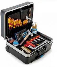 """8078590 S87 VDE-120.04P 87-delige VDE starterset """"Elektromonteur"""" in koffer verrijdbaar"""