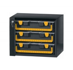 Kofferkast met 3 koffers