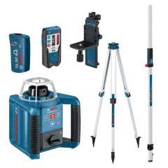 GRL300HV Set Rotatielaser + BT170 Statief + GR240 Meetlat 061599405U