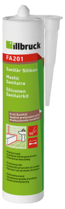 342480 FA201 Siliconen Sanitairkit koker 310ml, transparant