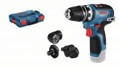 GSR 12 V-35 FC Accuschroefboormachine Excl. Accu en lader in L-Boxx + 5 jaar dealer garantie! 06019H3003