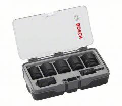 Toolnation-Bosch Blauw Accessoires Bosch 7-delige doppenset voor slagschroef-, of slagmoermachine!-aanbieding