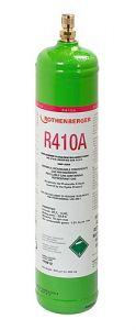 170912Koudemiddel R410A, 1l, 40 bar stalen fles