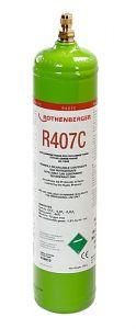 170913 Koudemiddel R407C, 1l, 40 bar stalen fles