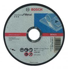 Doorslijpschijf recht Standard for Metal A 60 T BF, 125 mm, 22,23 mm, 1,6 mm