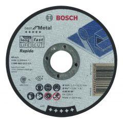 Doorslijpschijf recht Best for Metal - Rapido A 60 W BF, 115 mm, 1,0 mm