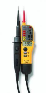 T150 Spannings en doorbeltester verlichte LCD-uitlezing weerstandsmeting