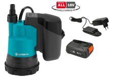 14600-20 Accu dompelpomp 2000/2 Clear 18V P4A set