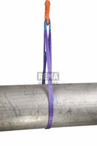 S1-PE-4M Polyester hijsbanden met versterkte lussen 4 mtr. 1000 kg