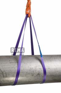 S2-PE-2M polyester eindloze platte bandstrop 2.0 mtr 1000 kg 1212039