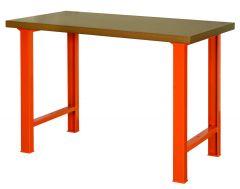 Werkbank met houten blad 1495WB15TD