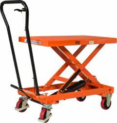 HT-50 handbediende verrijdbare heftafel 1010 x 520 mm 500 kg 3460050