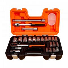 Toolnation-Bahco S240 Dopsleutelset, 24-delig-aanbieding