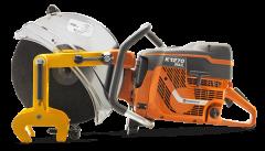 K1270 Rail Motordoorslijper 350 mm + RA10 Klem