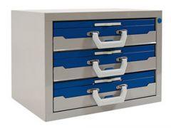 Kofferkast 53.3 met 3 plateau's excl. koffer