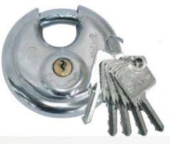 DoubleLock Discusslot met 5 sleutels