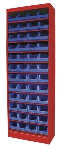 DEBK48 Bakjeskast zonder deur 650x290x1920mm