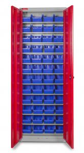 DEBK48D bakjeskast met deuren 650x285x1920mm