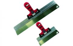 MM551400 Spackmes 400mm Softgrip alu.houder RVS