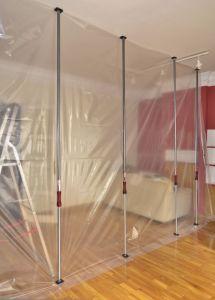 Magnetische deur voor stofvrij werken - kit
