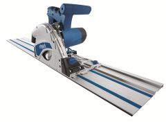 PL55 Inval-cirkelzaagmachine 160 mm + 2 x liniaal 700 mm + koppelstuk