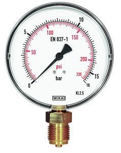 Manometer met fijne schaalverdeling voor Push afperspomp