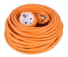 RELEC492213 Verlengsnoer 20Mtr Oranje 3 x 1,0 mm