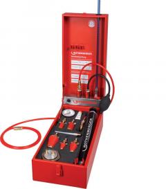 ROTEST® GW 150/4 Analoog dichtheidstestapparaat voor gas- en waterleidingen met het medium lucht
