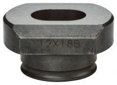 SC00000262 Matrijs ovaal 12 x 18mm voor DPP200