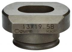SC00000264 Matrijs ovaal 13 x 19,5mm voor DPP200