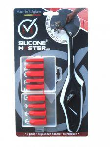 9-delige afstrijkset voor siliconen kit