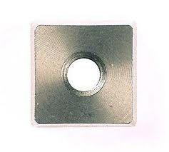 Stootmes- en tafelmes 1,6mm voor BLS2.5 Plaatschaar