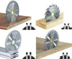 Zaagbladenset 4-delig HM-uitvoering diameter 160 mm asgat 20 (de originele)