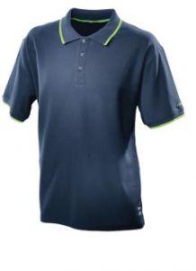498454 Poloshirt donkerblauw heren Maat L