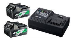 UC18YSL3WEZ BoosterPack - 2 x BSL36A18 Multivolt Accu 36V 2,5Ah/ 18V 5,0Ah Li-Ion + UC18YSL Snellader