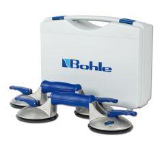 BOS2.4BL Blue line zuigheffer Set, 2 naps 60 kg in koffer