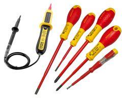 XTHT0-62692SB VDE Schroevendraaierset + gratis voltmeter