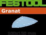 Schuurbladen actiepakket Granat 100 x 150 mm voor Festool DTS400 OP=OP