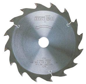 Mafell Zaagblad-HM, 160 x 1,2/1,8 x 20 mm, Z 24, WZ