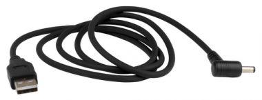 USB kabel voor het voorzien van CXT-kruislijnlasers van stroom met LXT accu via LXT USB-adapter