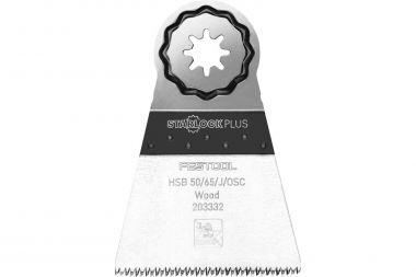 203332 Hout-zaagblad HSB 50/65/J/OSC/5 50x65mm 5 stuks voor OSC 18